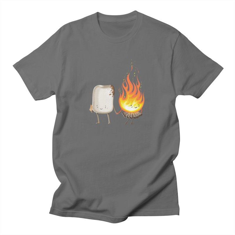 Marshmallove Men's Regular T-Shirt by T2U