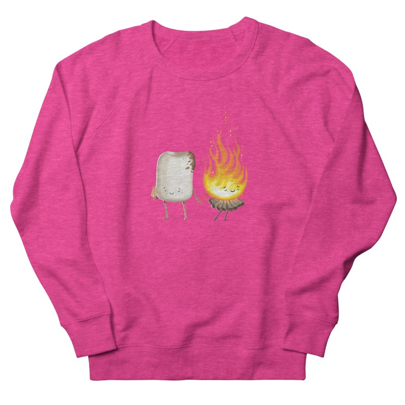 Marshmallove Women's French Terry Sweatshirt by T2U