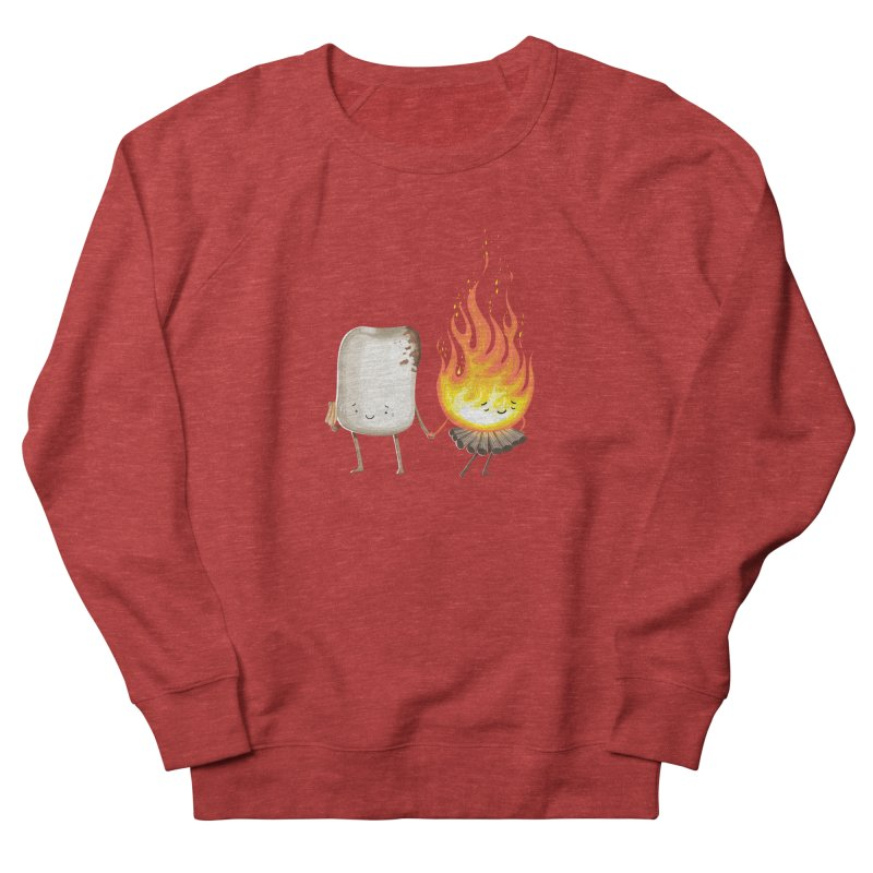 Marshmallove Men's French Terry Sweatshirt by T2U