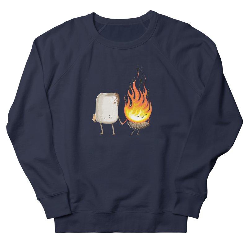 Marshmallove Men's French Terry Sweatshirt by T2U