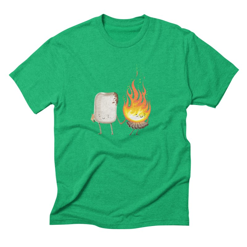 Marshmallove Men's Triblend T-Shirt by T2U