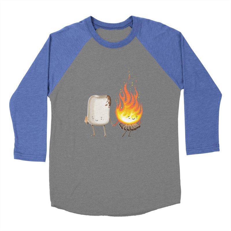 Marshmallove Men's Baseball Triblend T-Shirt by Tiago Möller Art Shop