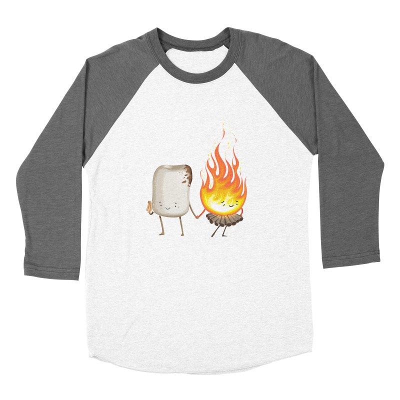 Marshmallove Men's Baseball Triblend Longsleeve T-Shirt by T2U