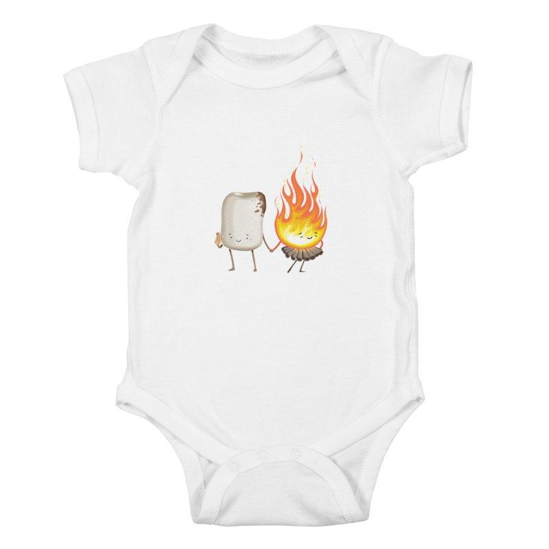 Marshmallove Kids Baby Bodysuit by Tiago Möller Art Shop