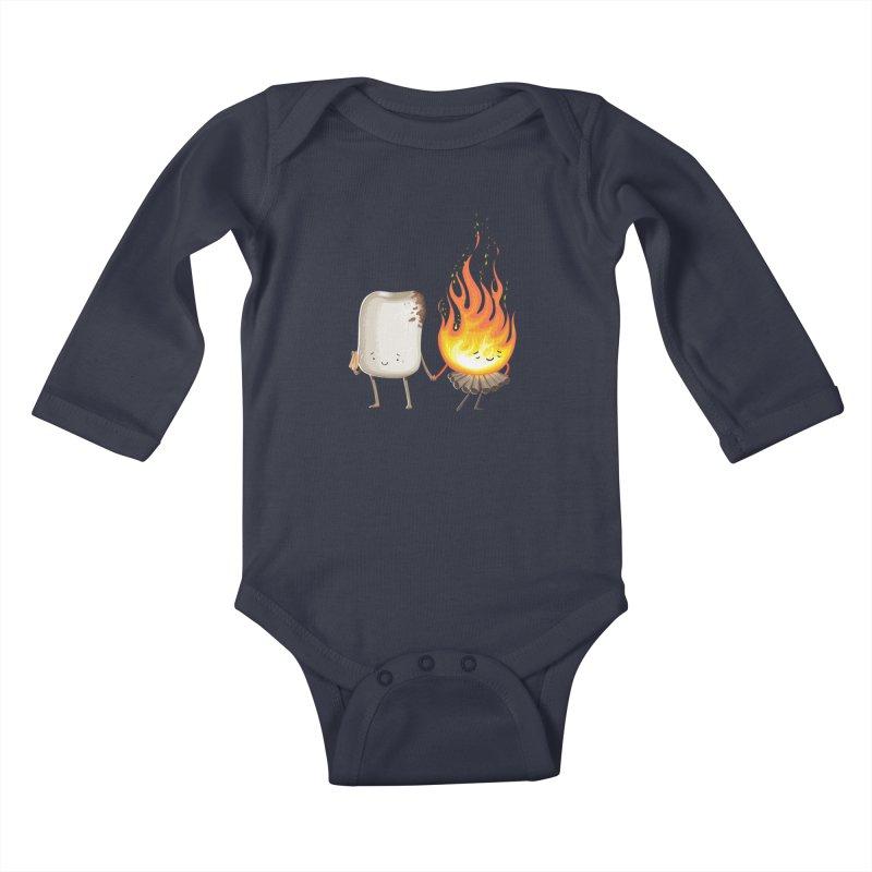 Marshmallove Kids Baby Longsleeve Bodysuit by T2U