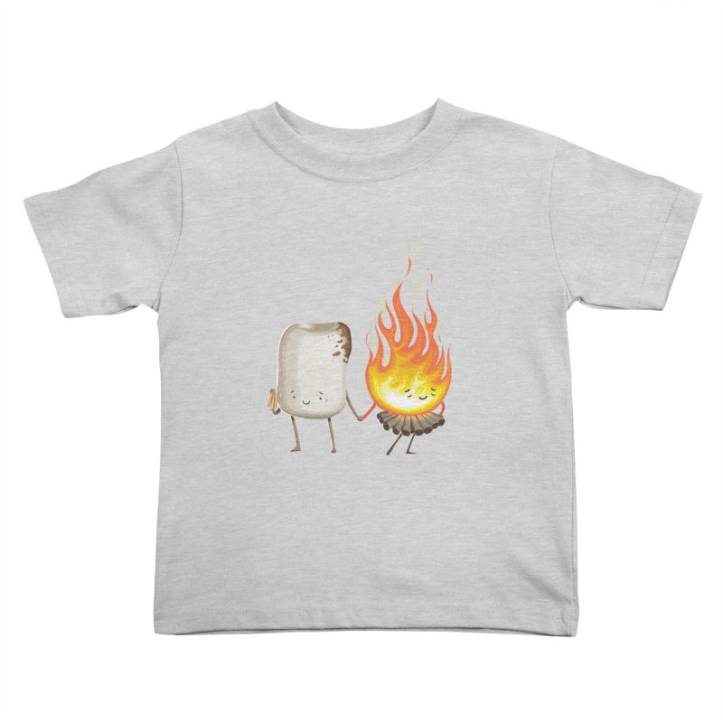 Marshmallove Kids Toddler T-Shirt by Tiago Möller Art Shop