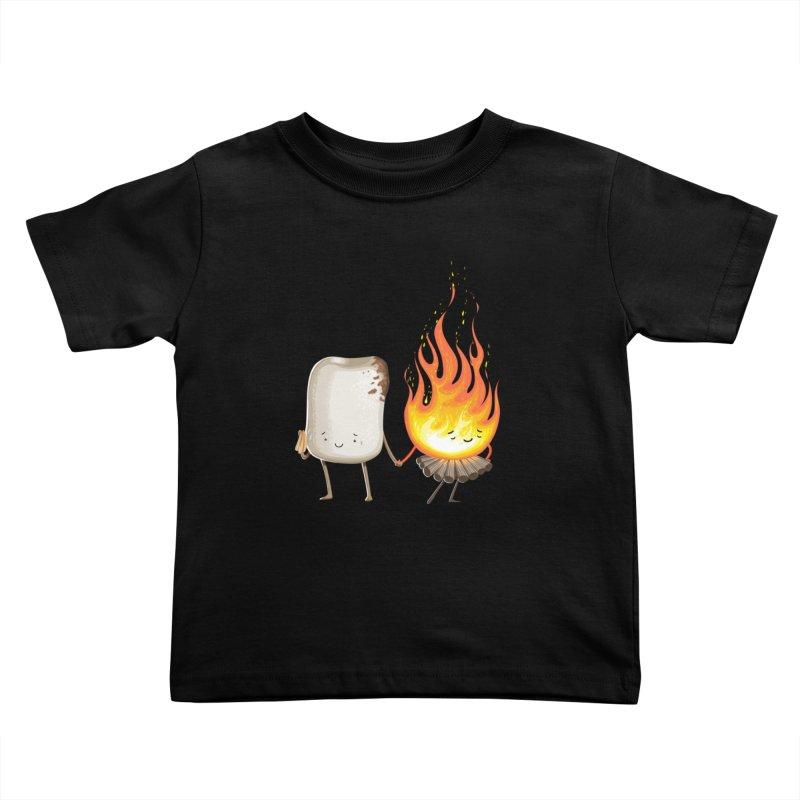 Marshmallove Kids Toddler T-Shirt by T2U