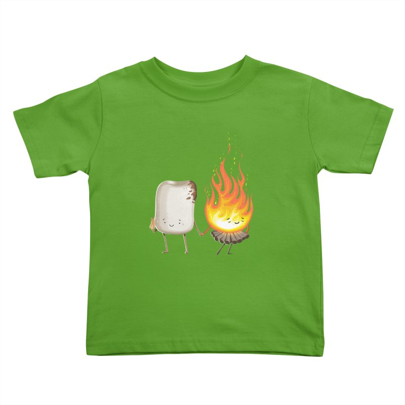 Marshmallove Kids Toddler T-Shirt by T2U