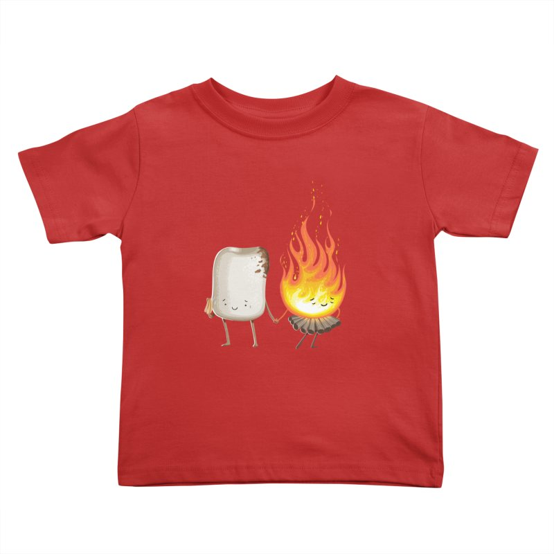 Marshmallove Kids Toddler T-Shirt by Tiago Möller Art Shop
