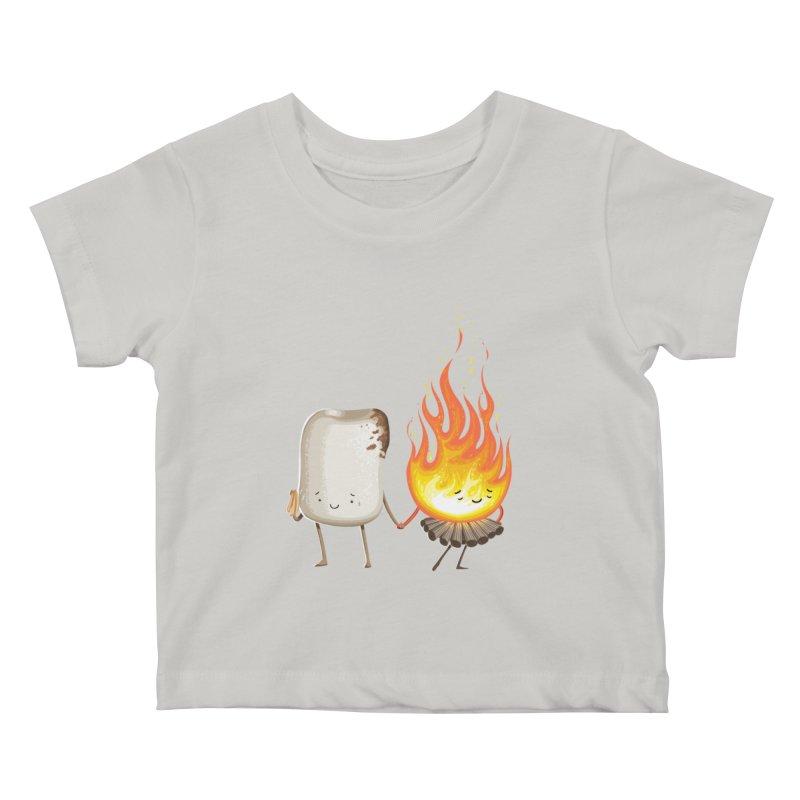 Marshmallove Kids Baby T-Shirt by Tiago Möller Art Shop