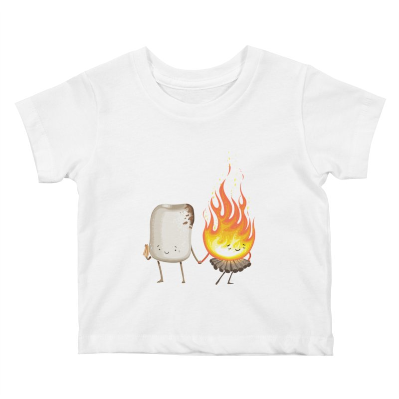 Marshmallove Kids Baby T-Shirt by T2U