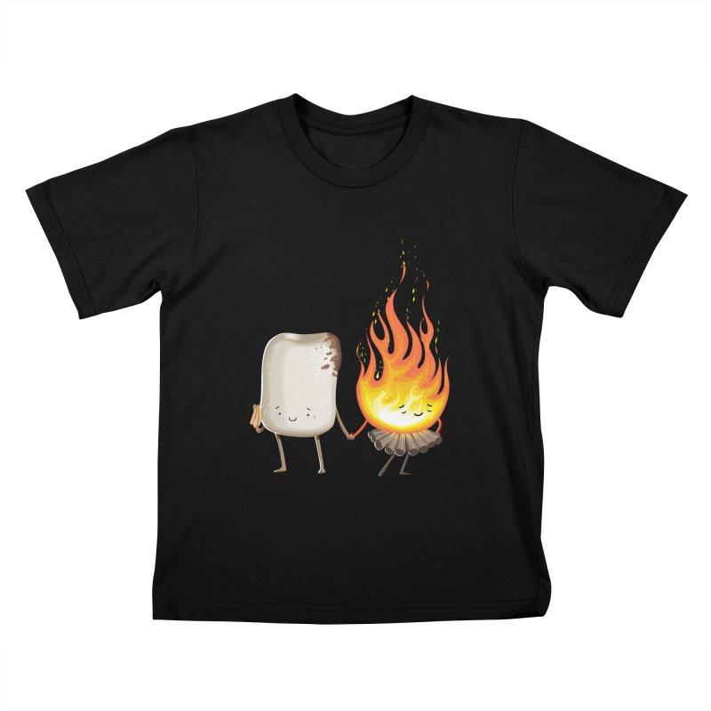 Marshmallove Kids T-shirt by Tiago Möller Art Shop