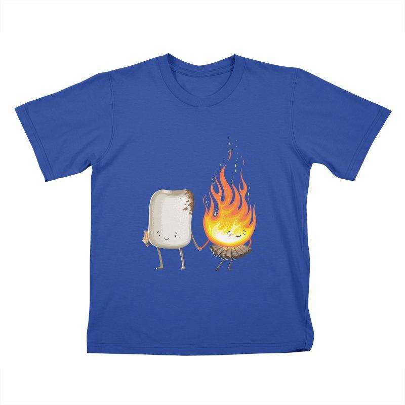 Marshmallove Kids T-Shirt by T2U