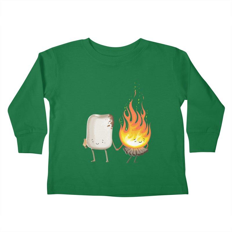 Marshmallove Kids Toddler Longsleeve T-Shirt by T2U