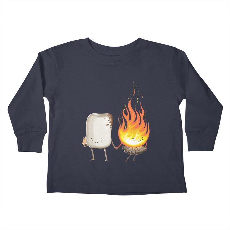 Marshmallove Kids Toddler Longsleeve T-Shirt by T2U