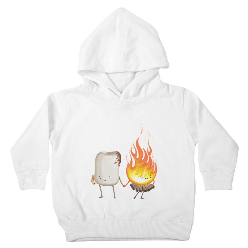 Marshmallove Kids Toddler Pullover Hoody by Tiago Möller Art Shop
