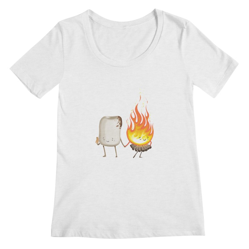 Marshmallove Women's Scoop Neck by T2U