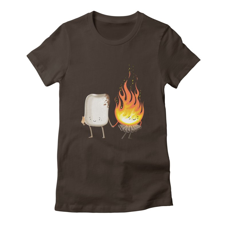 Marshmallove Women's Fitted T-Shirt by T2U