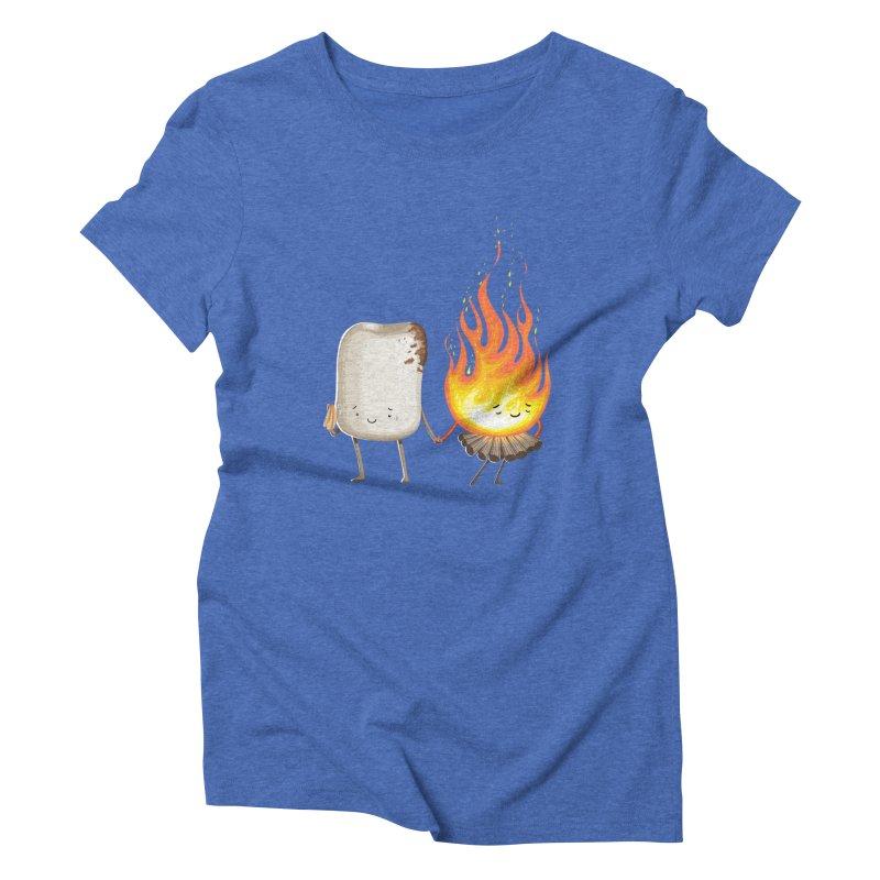 Marshmallove Women's Triblend T-Shirt by T2U