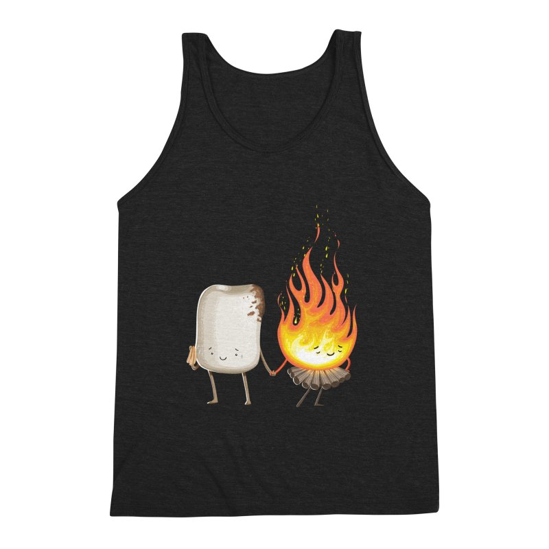 Marshmallove Men's Triblend Tank by T2U