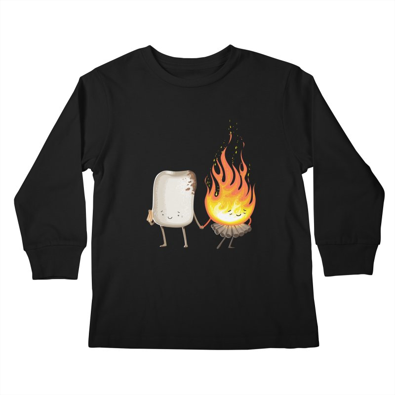 Marshmallove Kids Longsleeve T-Shirt by Tiago Möller Art Shop