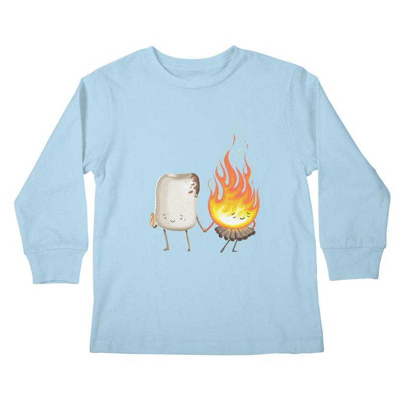 Marshmallove Kids Longsleeve T-Shirt by Tiago Möller Art Shop