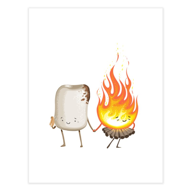 Marshmallove Home Fine Art Print by Tiago Möller Art Shop