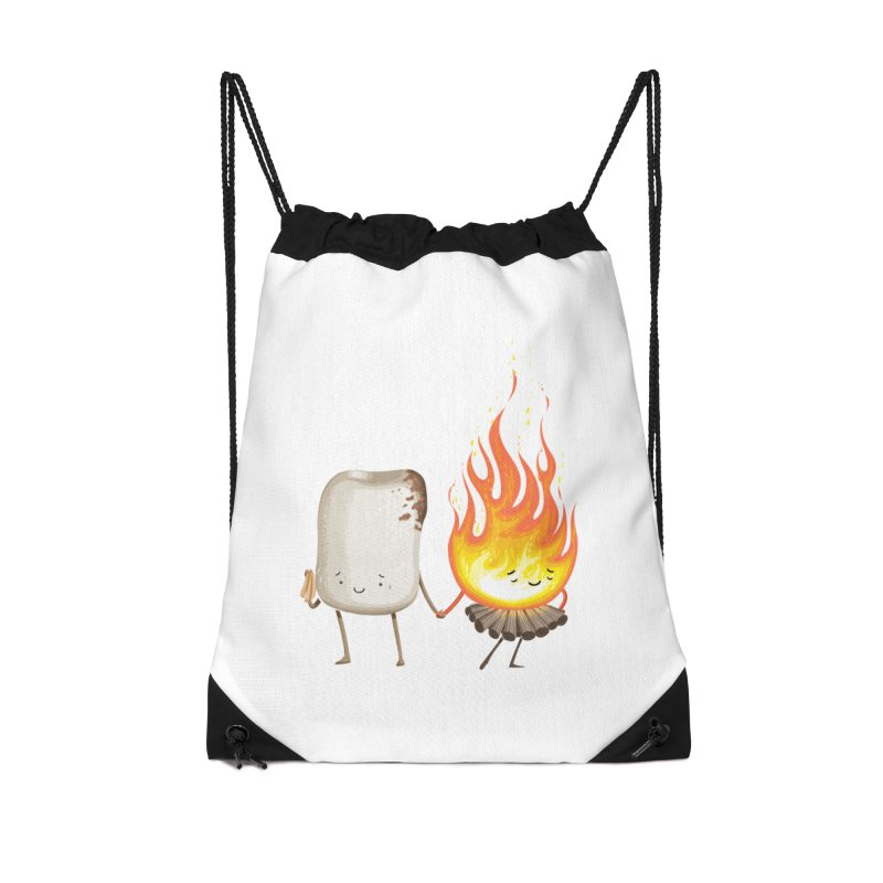 Marshmallove Accessories Drawstring Bag Bag by T2U