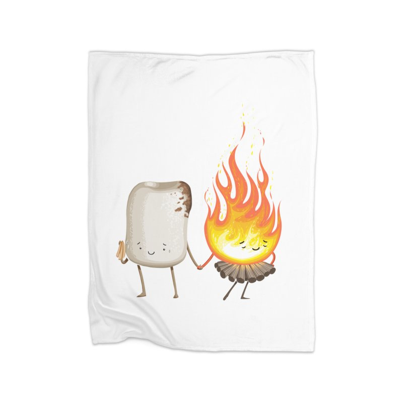 Marshmallove Home Fleece Blanket Blanket by T2U