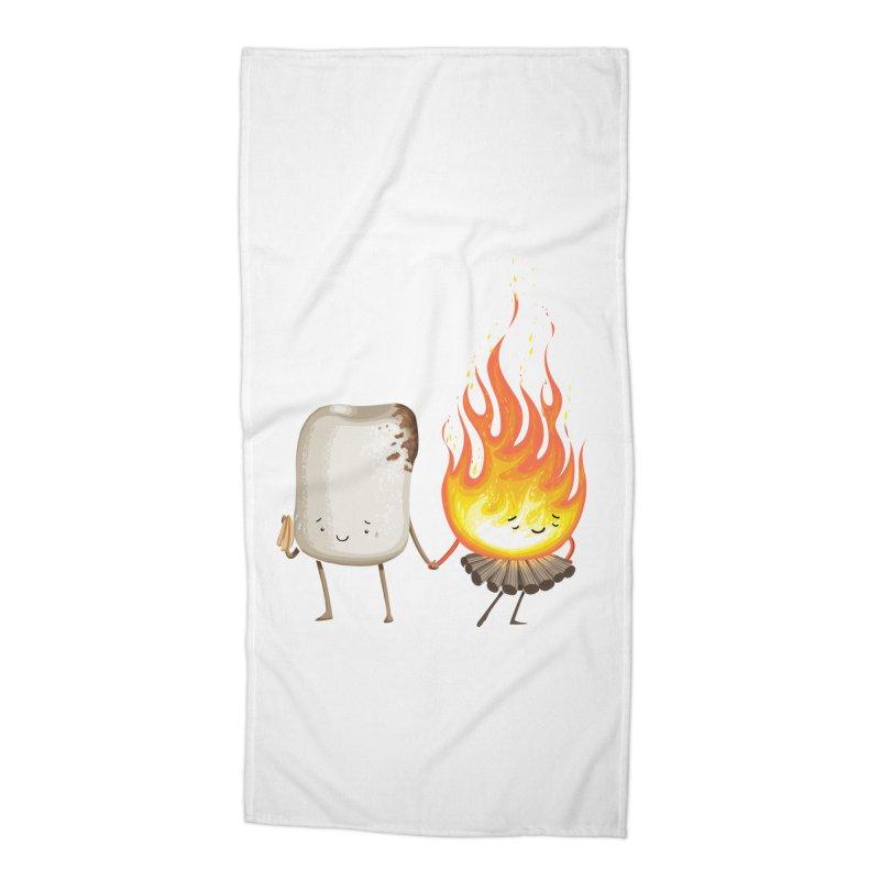 Marshmallove Accessories Beach Towel by Tiago Möller Art Shop