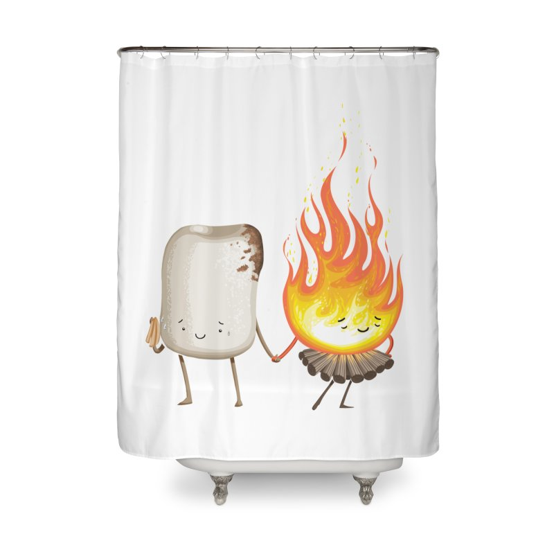 Marshmallove Home Shower Curtain by T2U