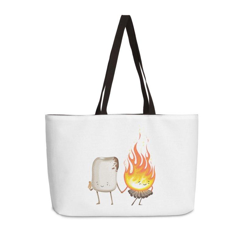 Marshmallove Accessories Weekender Bag Bag by T2U