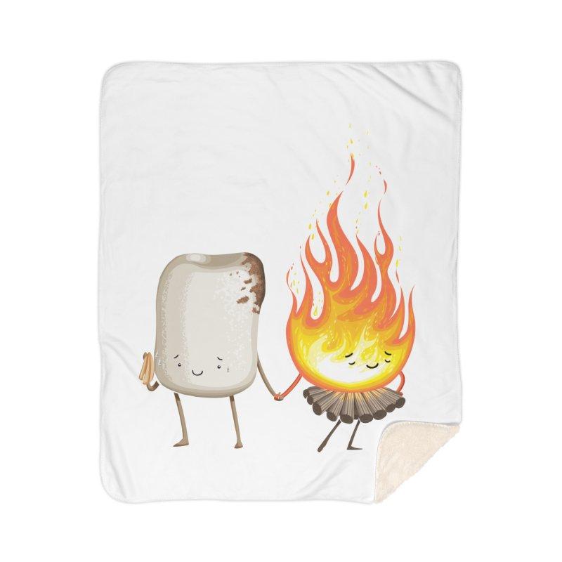 Marshmallove Home Sherpa Blanket Blanket by T2U