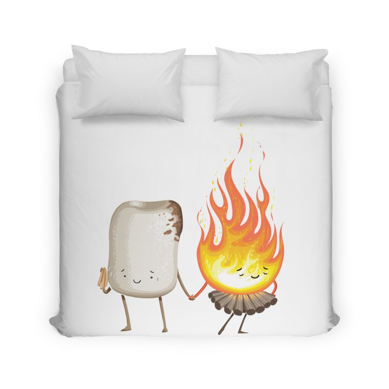 Marshmallove Home Duvet by Tiago Möller Art Shop