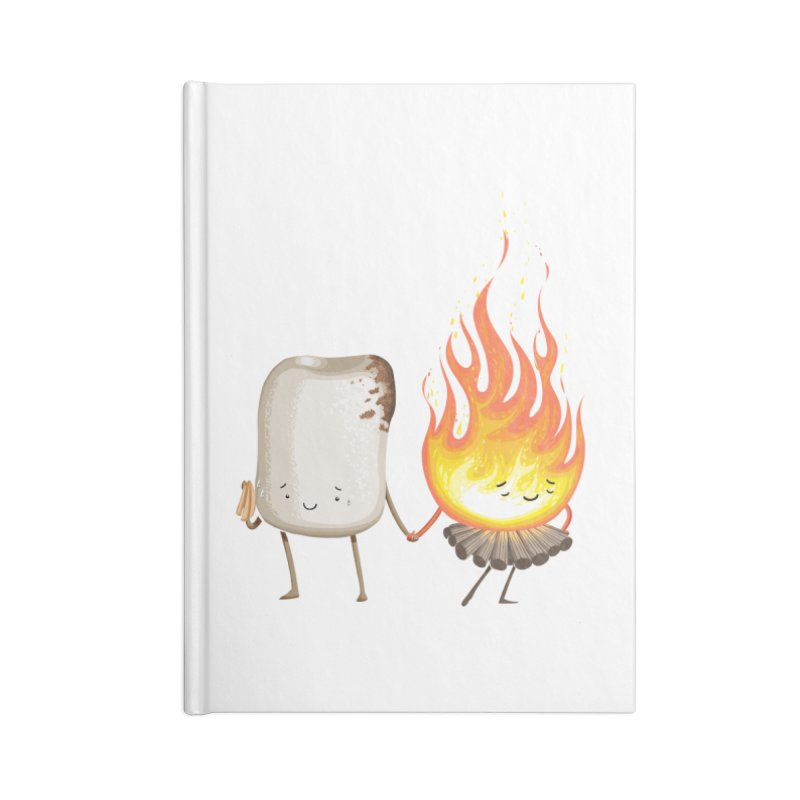 Marshmallove Accessories Lined Journal Notebook by T2U