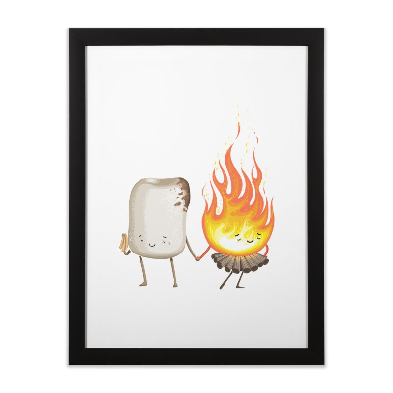 Marshmallove Home Framed Fine Art Print by T2U