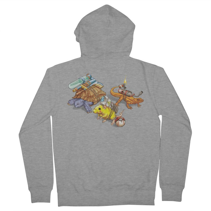 Real Pocket Monsters Women's French Terry Zip-Up Hoody by T2U