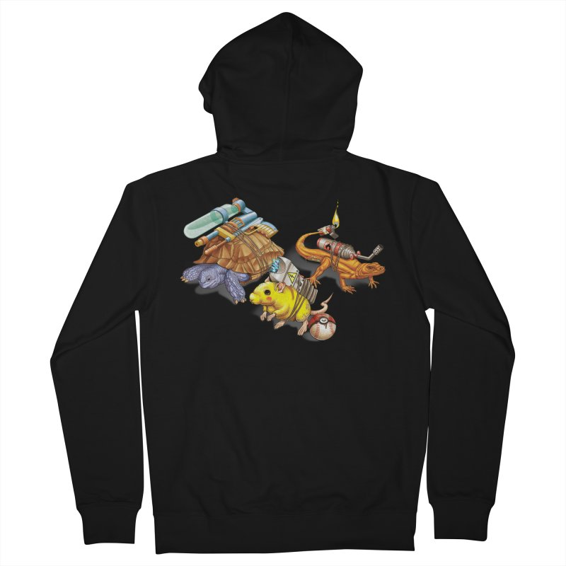 Real Pocket Monsters Men's Zip-Up Hoody by T2U