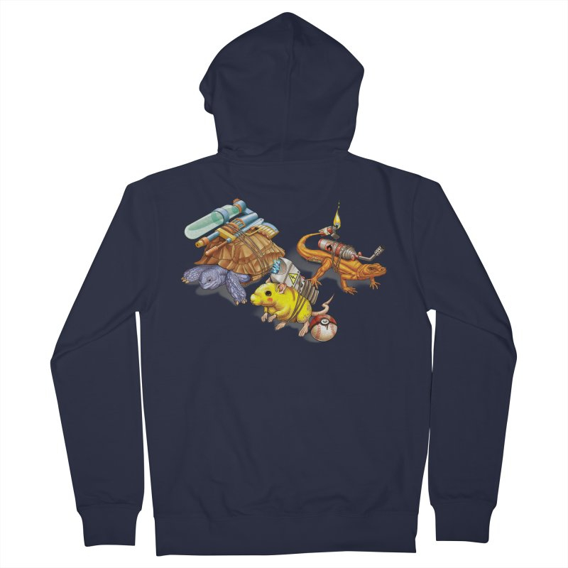 Real Pocket Monsters Men's French Terry Zip-Up Hoody by T2U