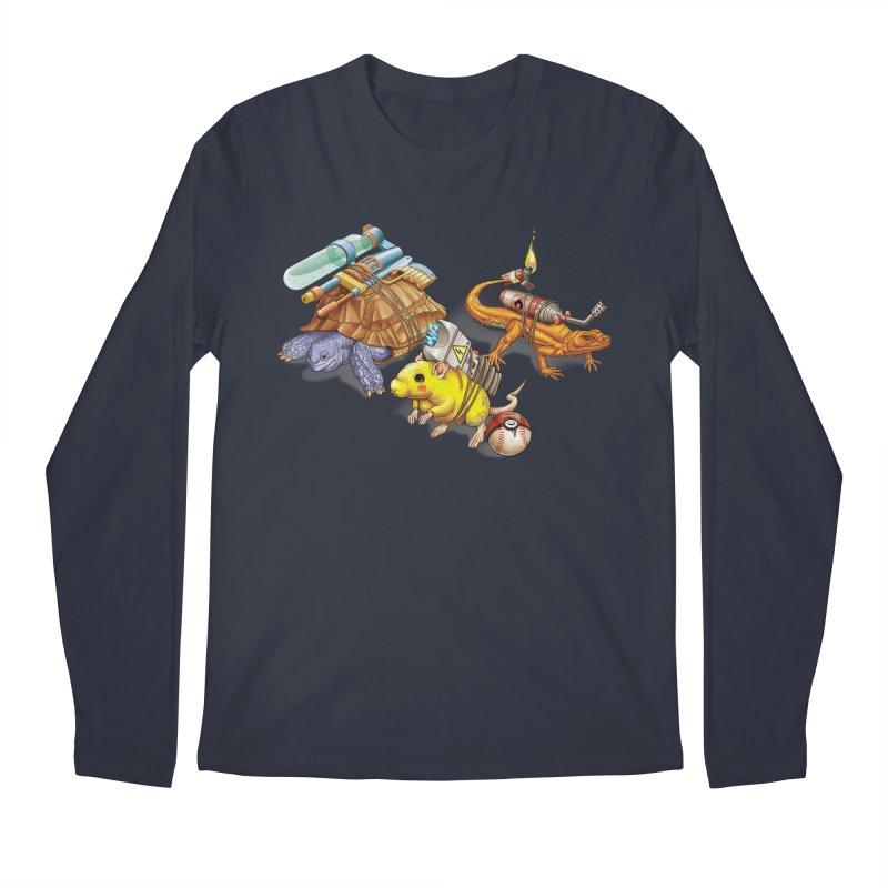 Real Pocket Monsters Men's Longsleeve T-Shirt by T2U