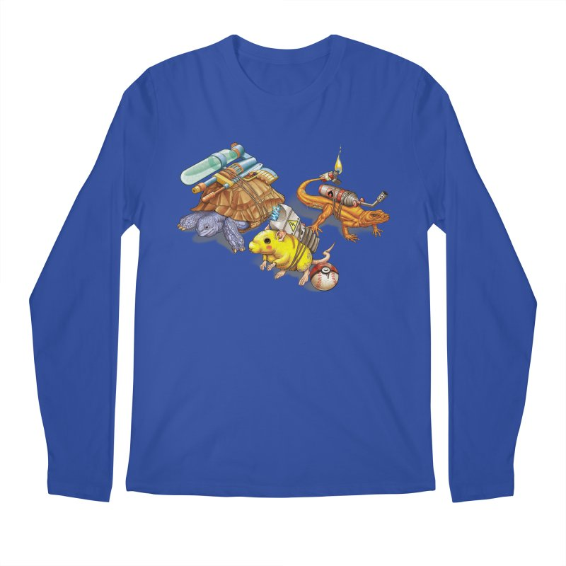 Real Pocket Monsters Men's Regular Longsleeve T-Shirt by T2U