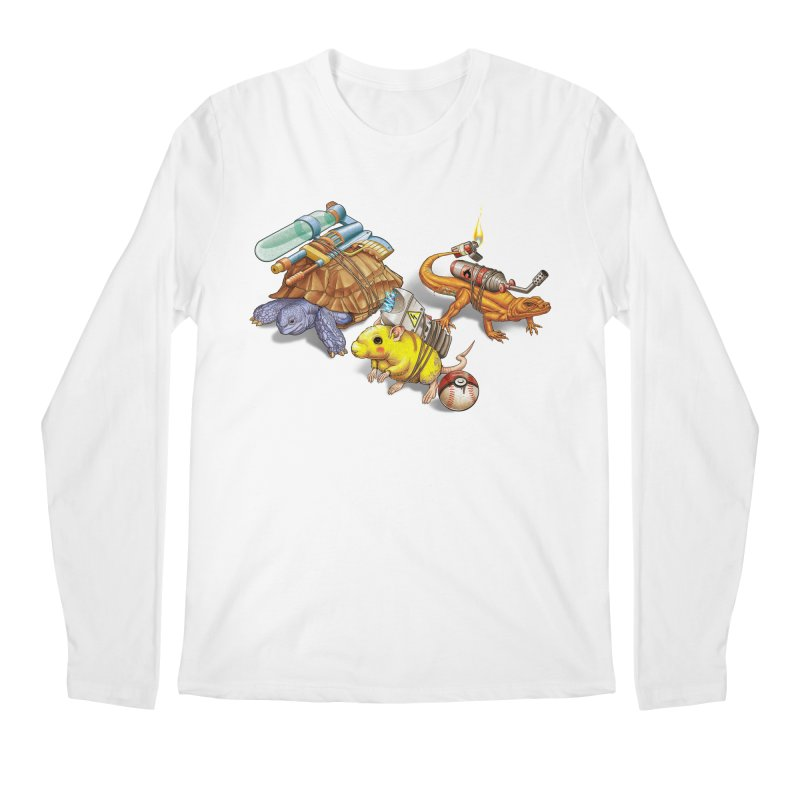 Real Pocket Monsters Men's Longsleeve T-Shirt by Tiago Möller Art Shop