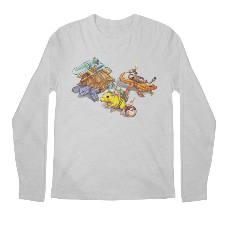 Real Pocket Monsters Men's Longsleeve T-Shirt by T2U