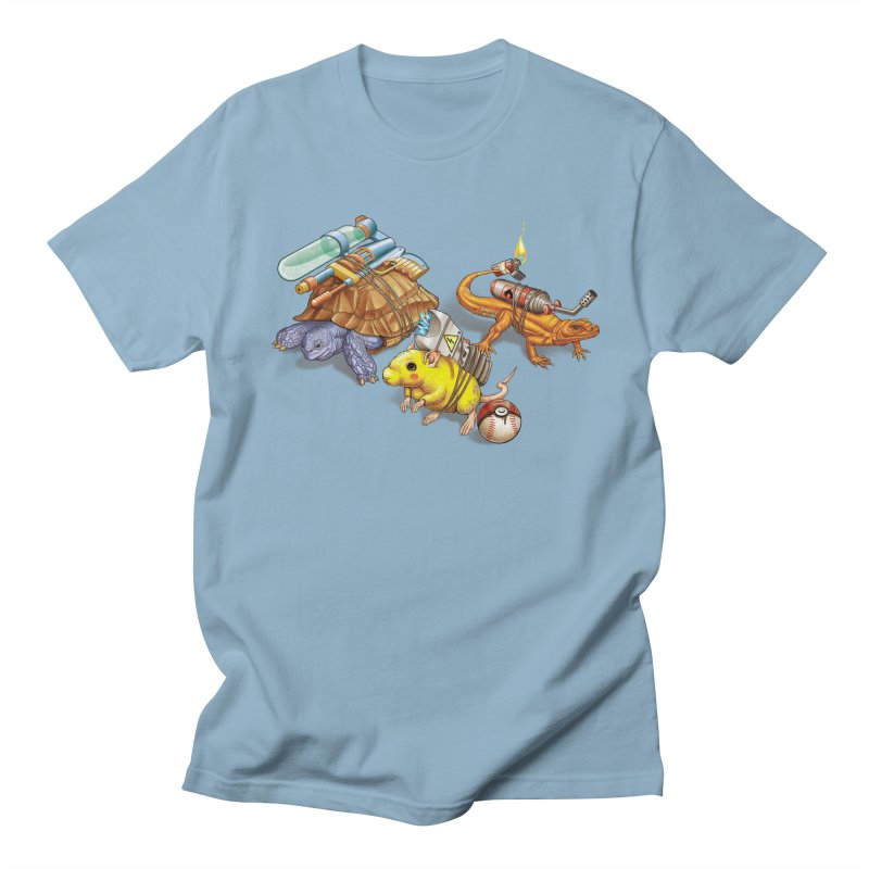 Real Pocket Monsters Men's Regular T-Shirt by T2U
