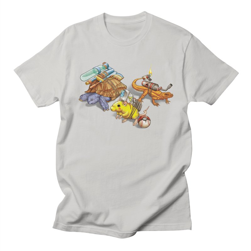Real Pocket Monsters Men's T-shirt by Tiago Möller Art Shop