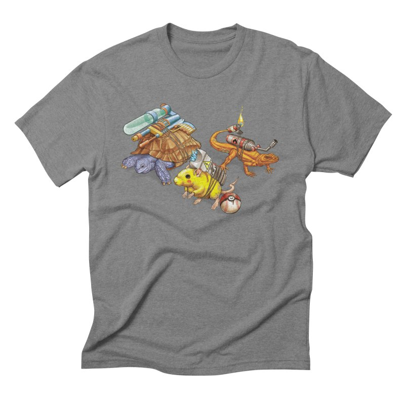 Real Pocket Monsters Men's Triblend T-Shirt by T2U