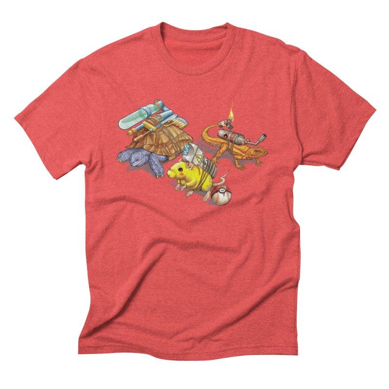 Real Pocket Monsters Men's Triblend T-shirt by Tiago Möller Art Shop