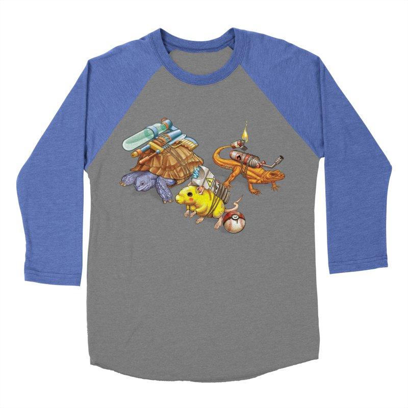 Real Pocket Monsters Women's Baseball Triblend Longsleeve T-Shirt by T2U