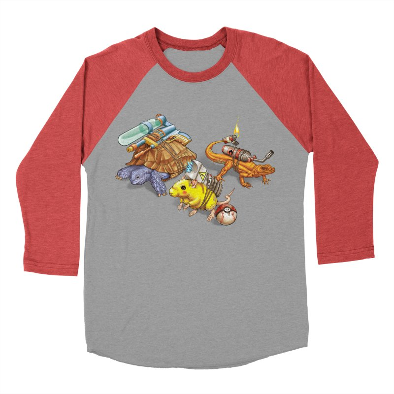 Real Pocket Monsters Men's Baseball Triblend T-Shirt by Tiago Möller Art Shop