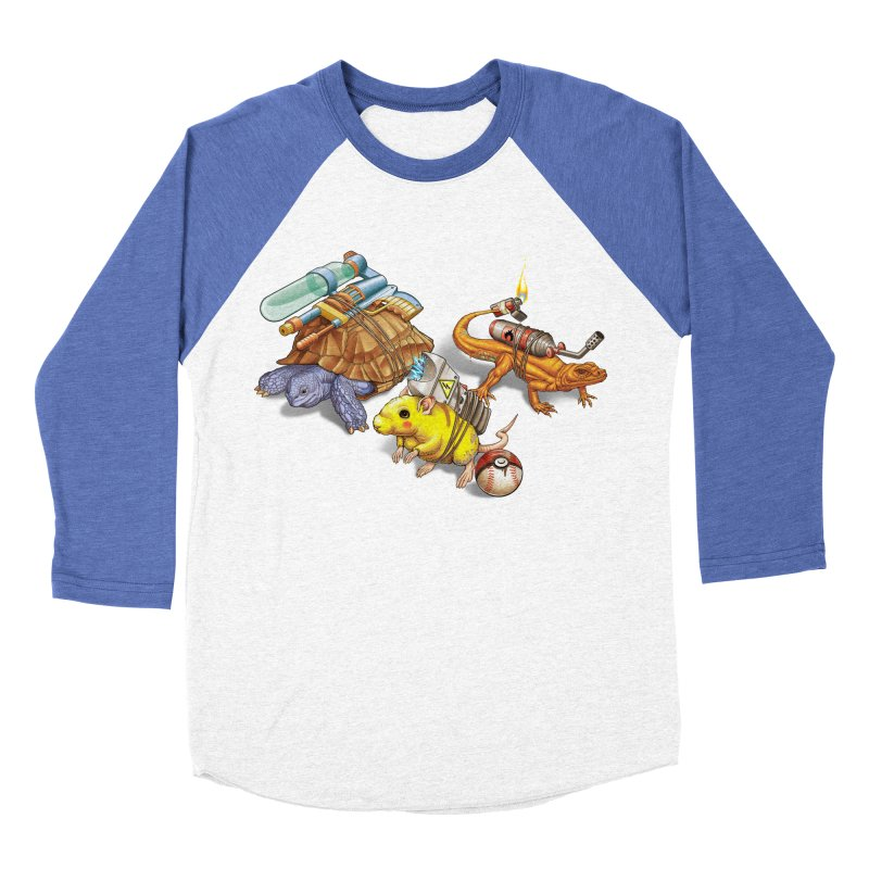 Real Pocket Monsters Men's Baseball Triblend Longsleeve T-Shirt by T2U